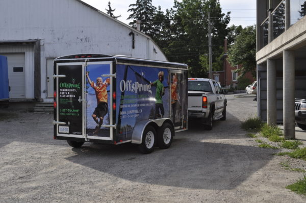 Trailer Wrap - alphagraphics & signs