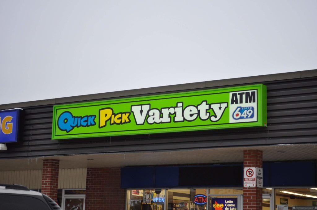 backlit storefront signs