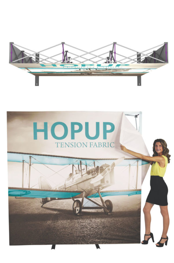hopup fabric display