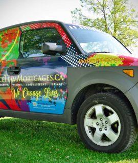 Car Wrap AlphaGraphics