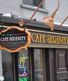 Cedar cafe sign